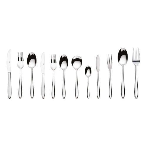Aspira Pair of serving forks, Mirror Finish Polished
