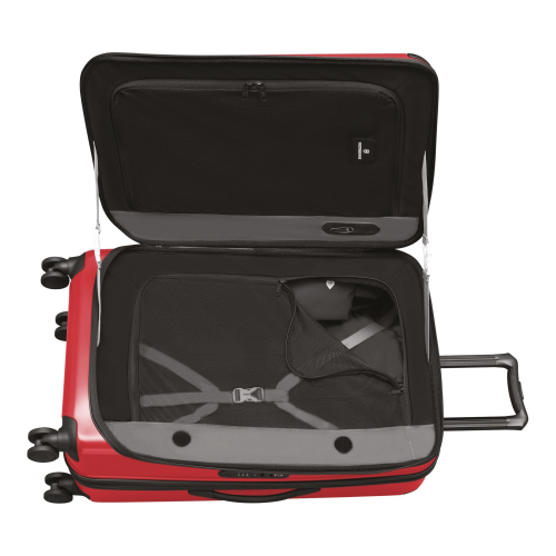 Spectra 2.0 Expandable Large expandable trolley, H78 x W48 x D32cm, Red