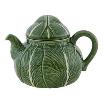 Cabbage Teapot, 1.9 litre - 17.5 x 18.5cm, green