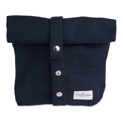 Canvas Lunch bag, 30 x 39cm, Dark Blue