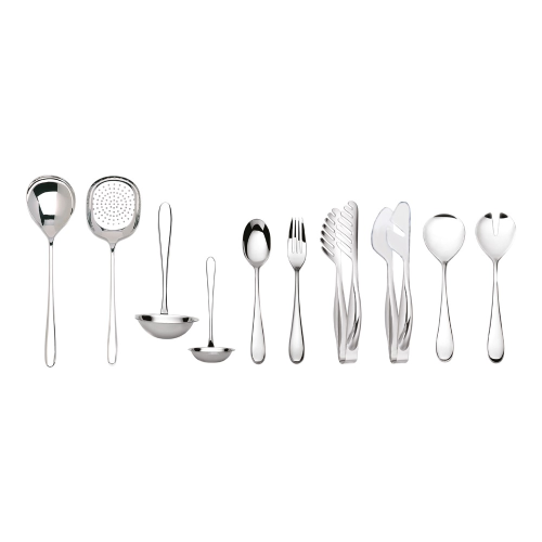 Siena Pair of serving forks, Mirror Finish Polished