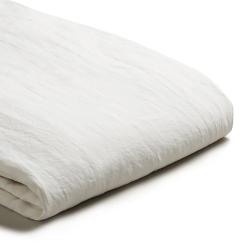 King duvet cover, 220 x 225cm, White