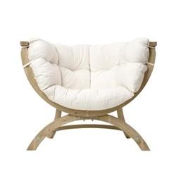 Siena Garden sofa, 118.5 x 93.5 x 58cm, natura