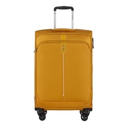 Popsoda Spinner expandable suitcase, 66 x 44 x 28/31cm, yellow