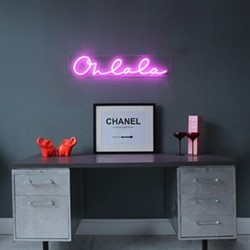Oh La La Wall light, L90 x H18cm, pink