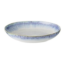 Brisa Ria Set of 6 pasta plates, 23cm, blue
