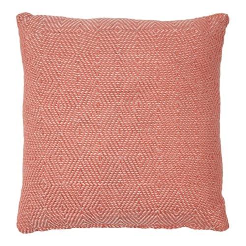 Diamond Cushion, L45 x W45cm, Coral