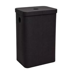 Ilia Laundry bin, L40 x W29.5 x H60cm, coffee