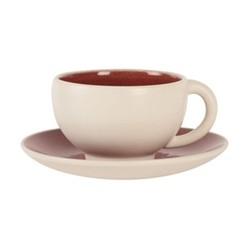 Tourron Natural Teacup, 18cl, cerise
