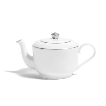 Line - Colour Medium teapot, H11.5cm - 660ml, metallic platinum