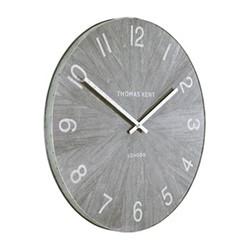 Wharf Limestone Small wall clock, 38cm, grey