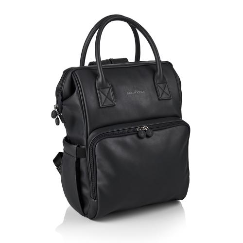 Amy Changing Bag, H39 x W38 x L21cm, Black
