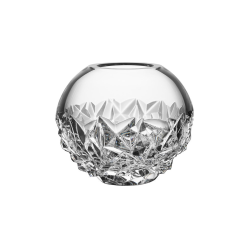 Carat Globe vase small, H10.8 x W13cm, Glass