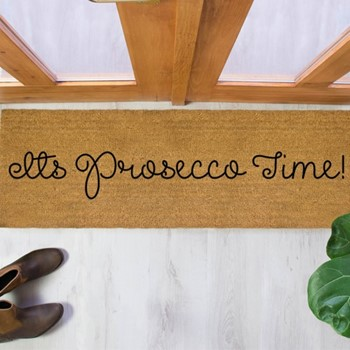 Prosecco Time Patio doormat , 120 x 40cm
