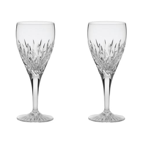 Sandringham Pair of large wine glasses, H21cm