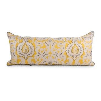 Nectar Lumbar pillow, W38.1 x L91.44cm, yellow&white