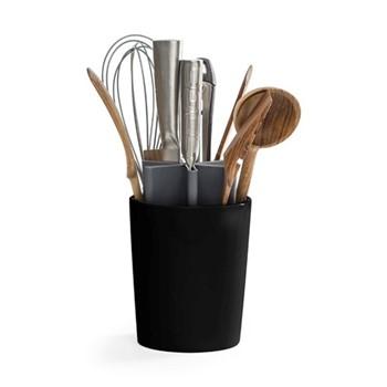Angle Kitchen organizer, 13.5 x 13.5 x 22cm, matt black/grey