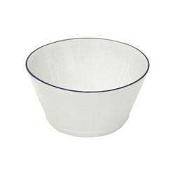 Beja Set of 6 cereal bowls, 14cm, white