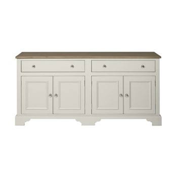 Chichester Sideboard, W183 x D49 x H87cm, shingle
