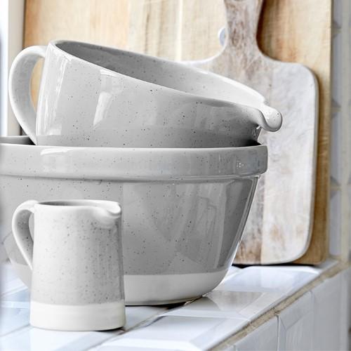 Fattoria Large mixing bowl, D31.5 x H15cm, Grey
