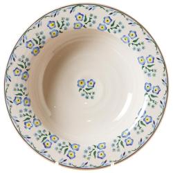 Forget Me Not Pasta bowl, D23 x H7cm