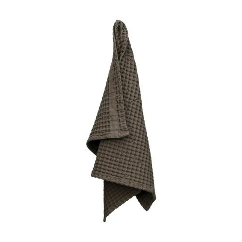 Waffle Hand towel, 50 x 75cm, Clay