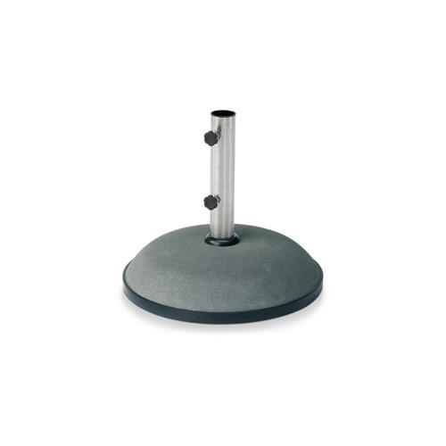 Catania Parasol foot, Dia50 x H39cm, Concrete/Stainless Steel