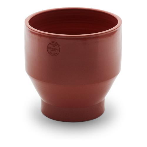 Edge Outdoor pot, Dia35 x H34cm, Teracotta/Burned Red