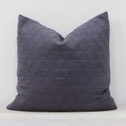 Stockholm Pillow, L65 x W65cm, slate grey