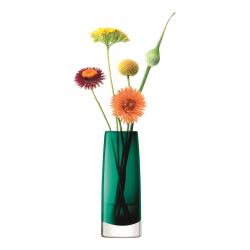 Stems Bud vase, H16cm, marine green