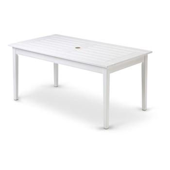 Drachmann Table, L156 x W86 x H72cm, white