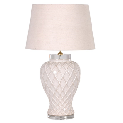 Lamp with shade, 72cm, Diagonal Pattern