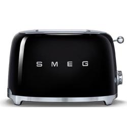 50's Retro 2 slice toaster, Black