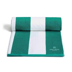 Berlin House pool towel, teal blue