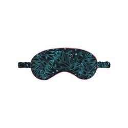 Butterfly Palms Silk eye mask, L19 x  W9cm, silk with elasticated band