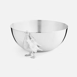 The Highland Safari Collection Medium bowl, D13 x H11cm, grouse