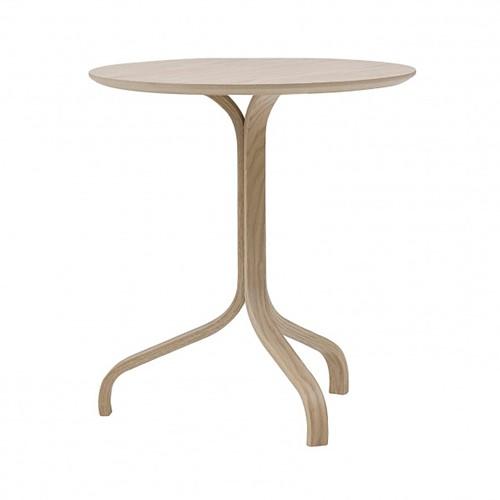 Lamino Side table, Dia46 x H49cm, Beech