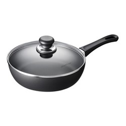 Classic Induction Saute pan with lid, 24cm