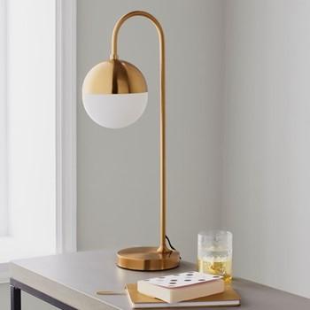 Mayfair Table lamp, L21 x W18 x D59cm, gold