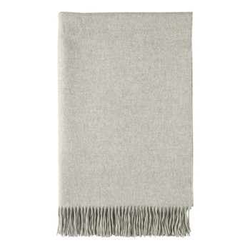 Cashmere woven bed throw 230 x 150cm
