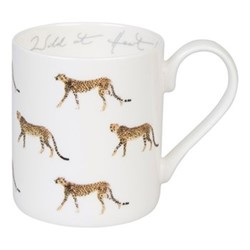 ZSL Cheetah Large mug, 425ml, multi
