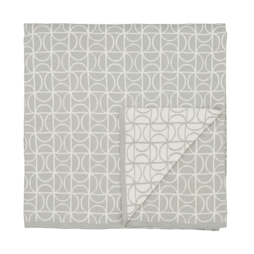Ocotillo Knitted throw, 140 x 200cm, Grey