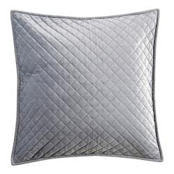 Edmonton Cushion, 45 x 45cm, Silver Grey