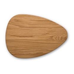 Pebble Chopping board, L32 x W24cm, oak