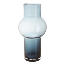 Bubble Vase, H25.5cm, blue