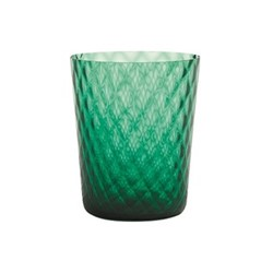 Veneziano Set of 6 tumblers, 33cl, green