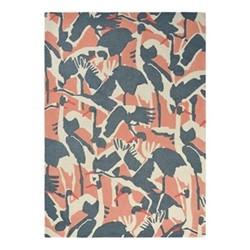 Cranes Rug, 170 x 240cm, pink