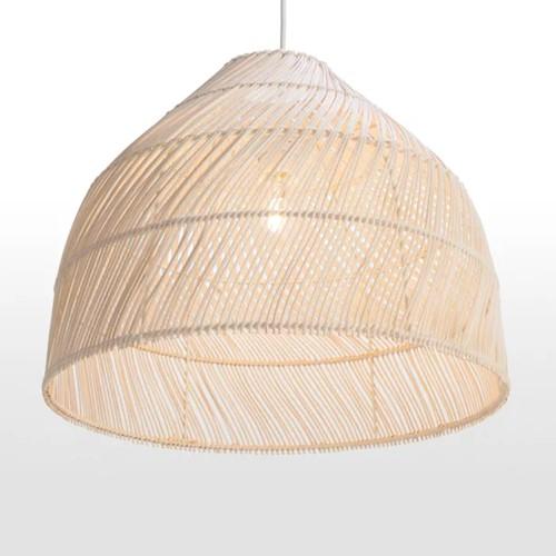 Java Lampshade, 43 x 43 x 35cm, natural rattan