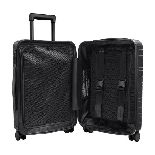 H5 Cabin trolley suitcase, W40 x H55 x D20cm, Black