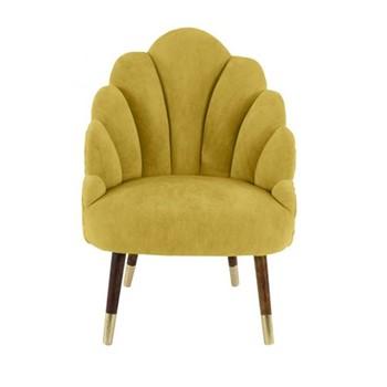 Tulip velvet chair H95 x W65 x D65cm